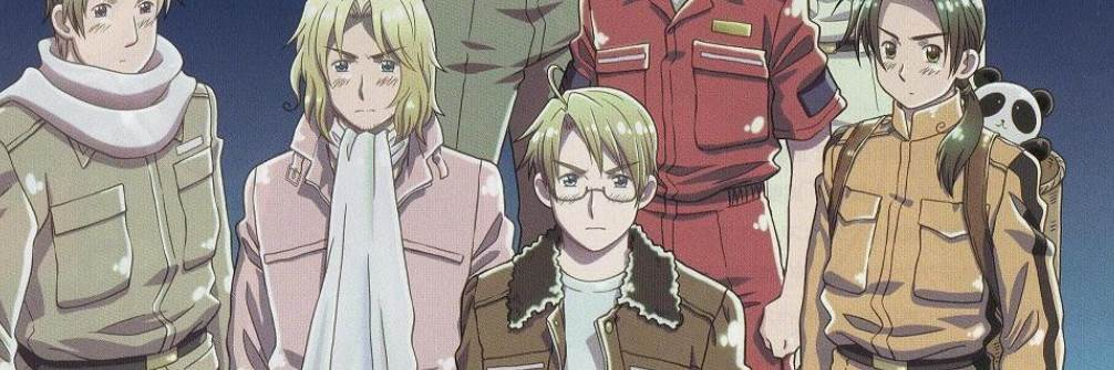 Ginmaku Hetalia - Axis Powers Paint it, White (Shiroku Nure!)
